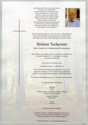 Portrait von Herr Helmut TSCHERNIZ