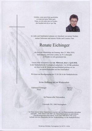 Portrait von Frau Renate EICHINGER