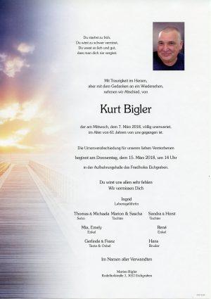 Portrait von Herr Kurt BIGLER