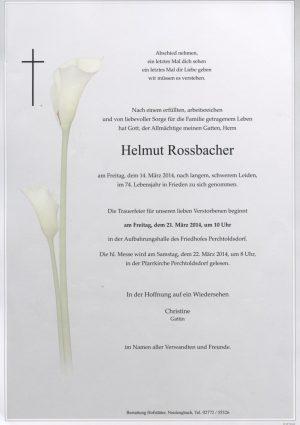 Portrait von Perchtoldsdorf Herr Helmut Rossbacher