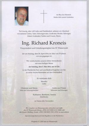 Portrait von Sulz im Wienerwald Herr Ing. Richard Kroneis