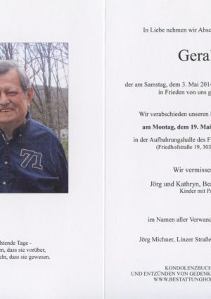 Portrait von Eichgraben Herr Gerald Spevak