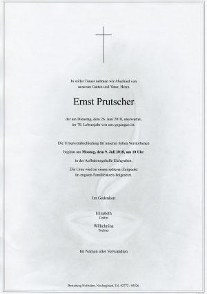 Portrait von Eichgraben Herr Ernst Prutscher
