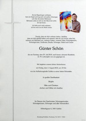 Portrait von Gablitz Herr Günter Schön