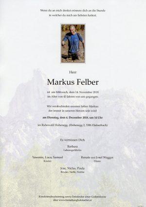 Portrait von Altlengbach – Ruhewald Hafnerbach Herr Markus FELBER