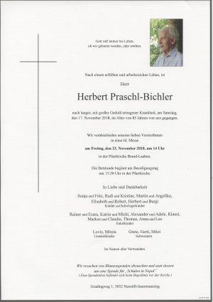 Portrait von Neustift-Innermanzing – Brand-Laaben Herr Herbert PRASCHL-BICHLER