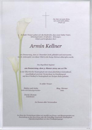 Portrait von Neulengbach Herr Armin Kellner