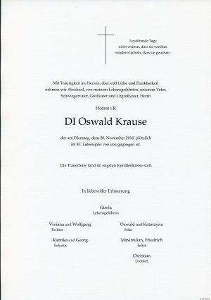 Portrait von St. Christophen Herr Oswald KRAUSE DI