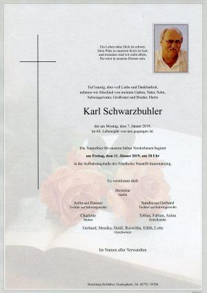 Portrait von Neustift-Innermanzing Herr Karl Schwarzbuhler