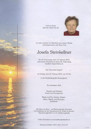 Portrait von Neulengbach – Frau Josefa Steinkellner