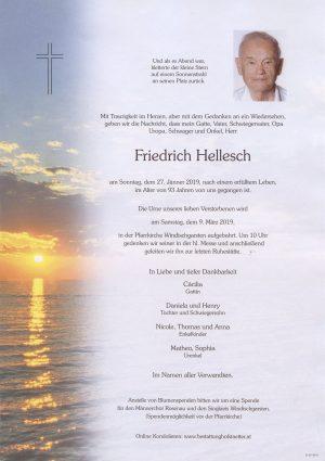 Portrait von Windischgarsten, Herr Friedrich Hellesch