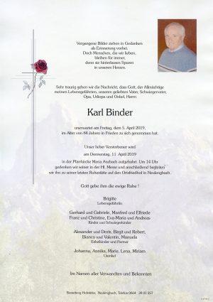 Portrait von Maria Anzbach  – Herr Karl Binder