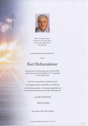 Portrait von Pressbaum  – Herr Kurt Rothensteiner