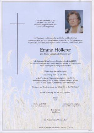 Portrait von Altlengbach – Frau Emma Höllerer