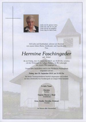 Portrait von Neulengbach – Frau Hermine Faschingeder