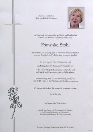 Portrait von Neulengbach – Frau Franziska Stohl