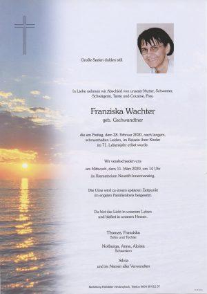 Portrait von Krematorium Neustift-Innermanzing – Frau Franziska Wachter