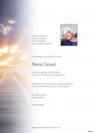 Portrait von Pressbaum – Frau Maria Grasel