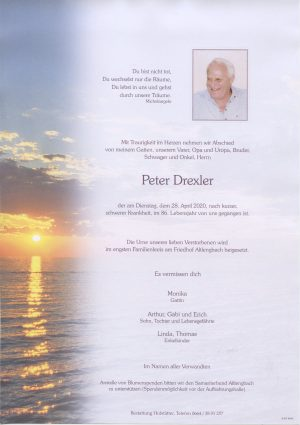 Portrait von Altlengbach – Herr Peter Drexler