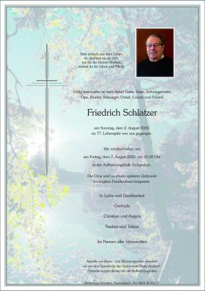 Portrait von Eichgraben – Herr Friedrich Schlatzer