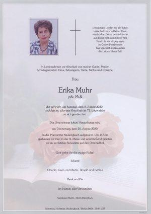 Portrait von Neulengbach – Frau Erika Muhr