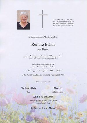 Portrait von Neulengbach – Frau Renate Ecker