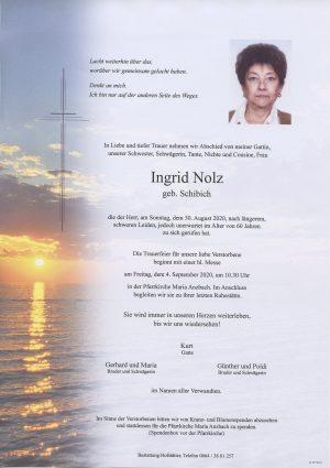 Portrait von Maria Anzbach – Frau Ingrid Nolz