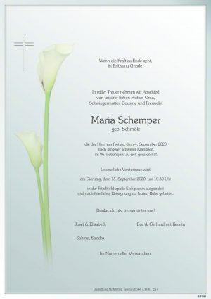 Portrait von Eichgraben – Frau Maria Schemper