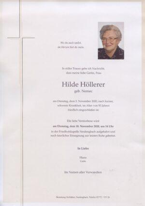 Portrait von Neulengbach – Frau Hilde Höllerer