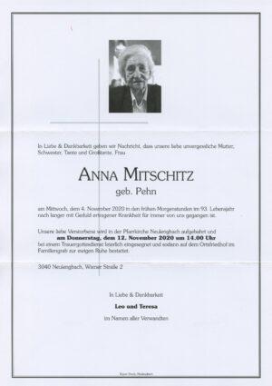 Portrait von Neulengbach – Frau Anna Mitschitz