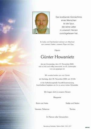 Portrait von Neustift-Innermanzing – Herr Günter Howanietz