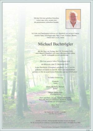 Portrait von Altlengbach – Herr Michael Bachtröger