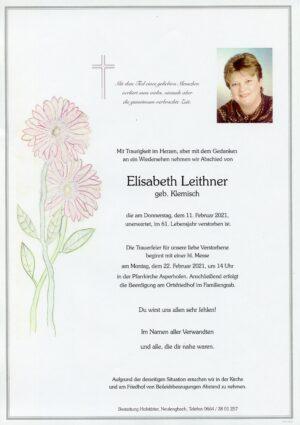 Portrait von Asperhofen – Frau Elisabeth Leithner