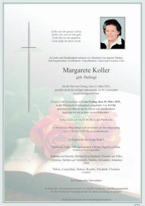 Portrait von Neulengbach – Frau Margarete Koller