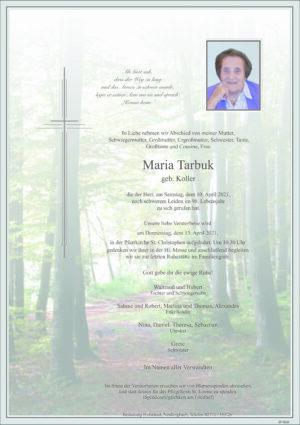 Portrait von St. Christophen – Frau Maria Tarbuk