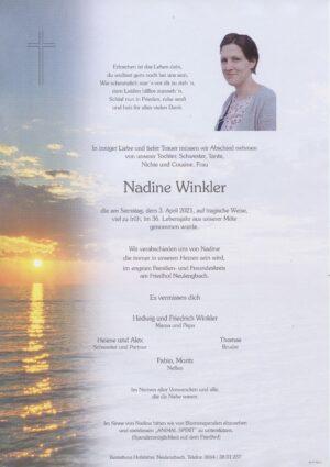 Portrait von Neulengbach- Frau Nadine Winkler
