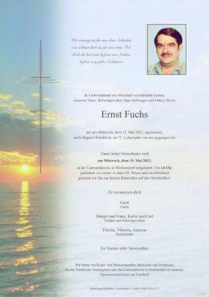 Portrait von Laurenzikirche – Herr Ernst Fuchs