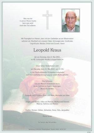 Portrait von Eichgraben – Leopold Kraus