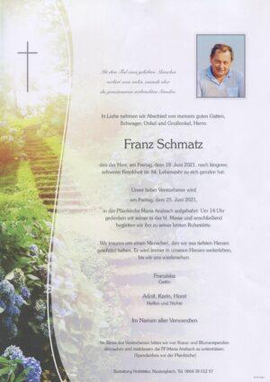 Portrait von Maria Anzbach – Herr Franz Schmatz