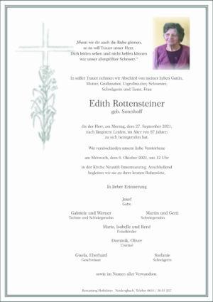 Portrait von Neustift-Innermanzing – Frau Edith Rottensteiner